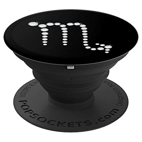 Scorpio Zodiac Symbol Personality - PopSockets Grip and Stand for Phones and Tablets