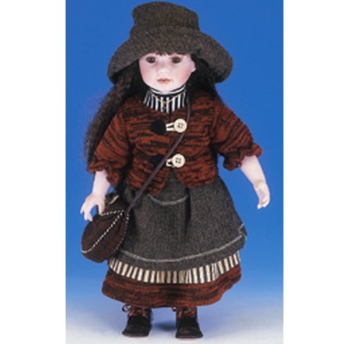 Ellis Island Collection: Devorah 21 inch Porcelain Doll