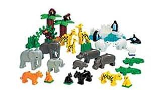 LEGO 9214 Duplo - Animales salvajes del zoológico (+2 años)