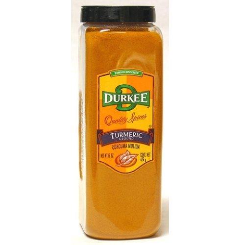 Durkee Ground Turmeric - 15 oz. container, 6 per case