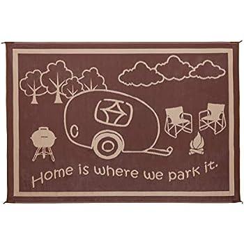 Amazon.com: Stylish Camping RH8187 Brown/Beige 8 Feet x18