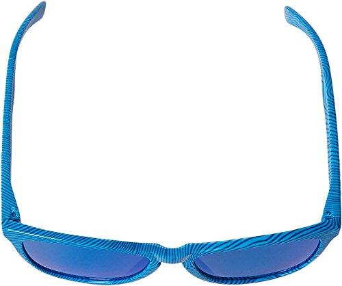 Oakley Men's Frogskins Sky Blue Fingerprint/Sapphire Iridium Sunglasses  One Size