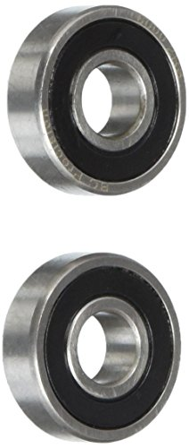 two-2-6000-2rs-sealed-bearings-10x26x8-ball-bearings-pre-lubricated-pack-of-2