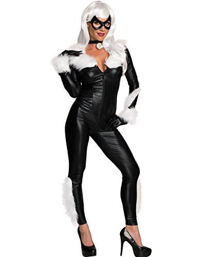 Rubie's Costume Secret Wishes Women's Marvel Universe Black Cat Costume, Black, Small]()