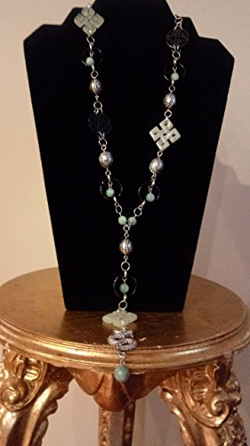 The Endless Knot Inspired Necklace
