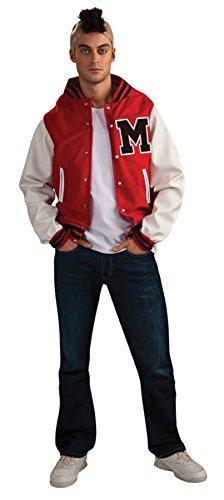 [Morris Costumes Men'S Glee Football Player (Puck) Costume 42-44] (Male Football Player Costume)