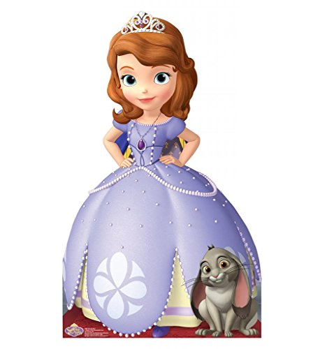 Sofia the First - Disney Junior's Sofia the First - Advanced Graphics Life Size Cardboard (Sofia The First Cut Out)