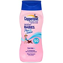 Coppertone Water Babies Pure & Simple SPF 50, 8oz (Pack of 2)