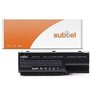 subtel® Batería premium (8800mAh) para Machines E520 / E720 / G420 / G520 / G620 / G720 / E510 AS07B41 (10.8V)* bateria de repuesto, pila reemplazo, sustitución