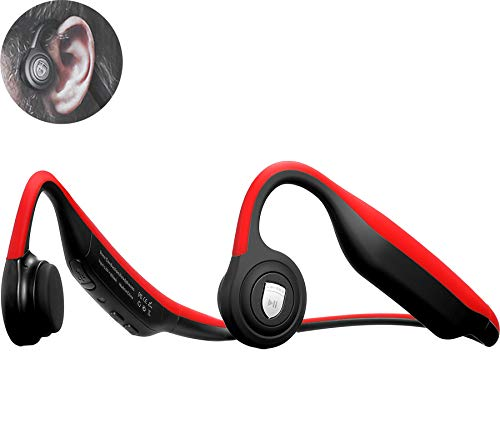 Single Mini Bluetooth Earbuds, Invisible Headphone True Wireless in Ear Headphone with Magnetic USB Charger, Sport Headsets with Built-in Mic for iOS Android Smart Phones