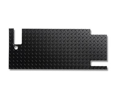 Warrior Products 918DPC Powder Coated Finish Tailgate Cover for Jeep TJ Unlimited 04-06 ()