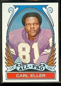 - 1972 Topps Football Bubba Smith All-Pro Card # 278 High Number NM-MT