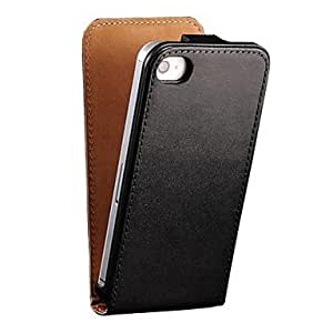 DD Genuine Leather Flip Case for iPhone 4/4S(Assorted Colors) , White