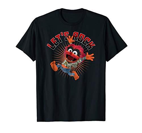Mens Animal Muppets T Shirt (Disney Let's Rock Muppet Babies Animal)