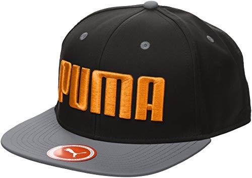 Gorro Nero Unisex Puma Flatbrim Adulto Logo Firecraker Owqa4cx