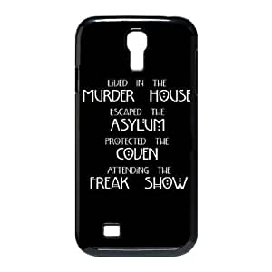 DIY Cover Case with Hard Shell Protection for SamSung Galaxy S4 I9500 case with American Horror Story lxa#3322496