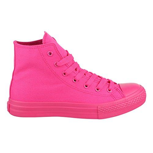 Top Sneakers Sneaker Sport Per 36 Tessile Scarpe Elara Scarpe High Uomo Donna nbsp; Unisex zTqqZxwF8
