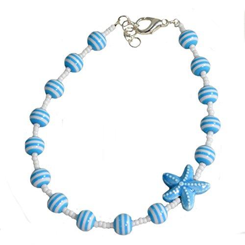 Glass Ankle Bracelet - 9