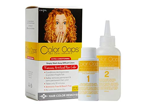Color Oops Hair Color Remover Extra Conditioning Review