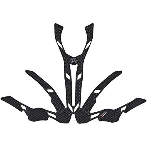 Troy Lee Designs A2 2.0 X-Static Helmet Headliner Off-Road BMX Cycling Helmet Accessories - Black/X-Small/Small