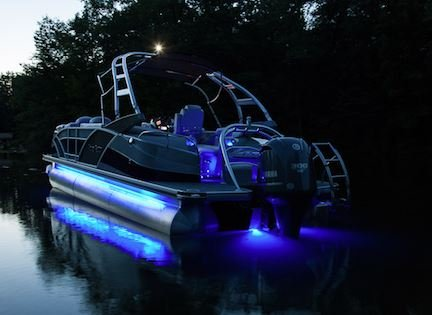 Amazon.com : PONTOON Lighting Kit   UNIVERSAL Will Fit Any Pontoon Or Boat    Remote Control   Color Selectable   Under Deck Or Around The Hull    LIFETIME ...