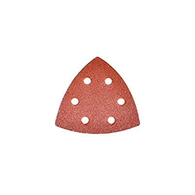 ALEKO 14SP01H 30 Pieces 240 Grit Triangle Sanding Pads With 6 Holes