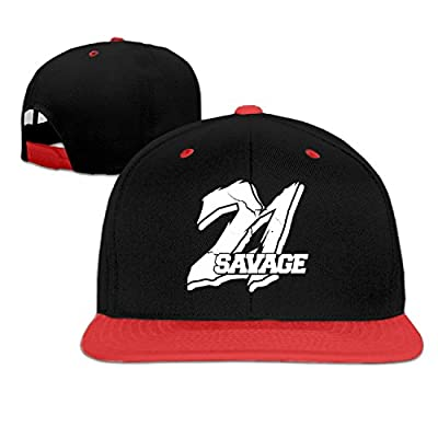 21 Savage Hip Hop baseball cap cool hip hop hat Red (5 colors)