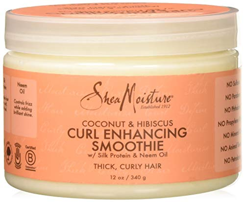 Shea Moisture Coconut Hibiscus Curl Enhancing Smoothie-12 (Curl Enhancing Hair Products)