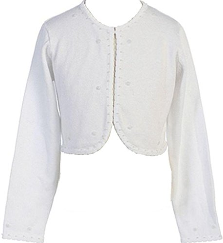 ter Comfortable For Girl with Beaded Embellishments White XL ()