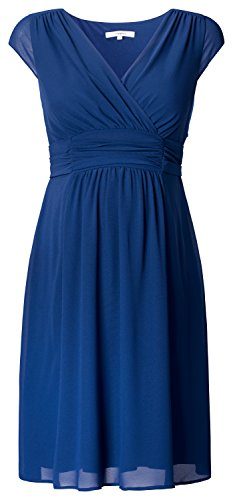 NOPPIES Damen Kleid Liane Medium Blue Dress_L