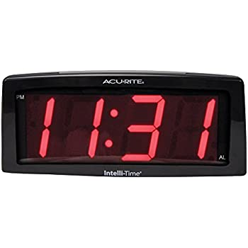 AcuRite 13003 7-Inch Digital Alarm Clock