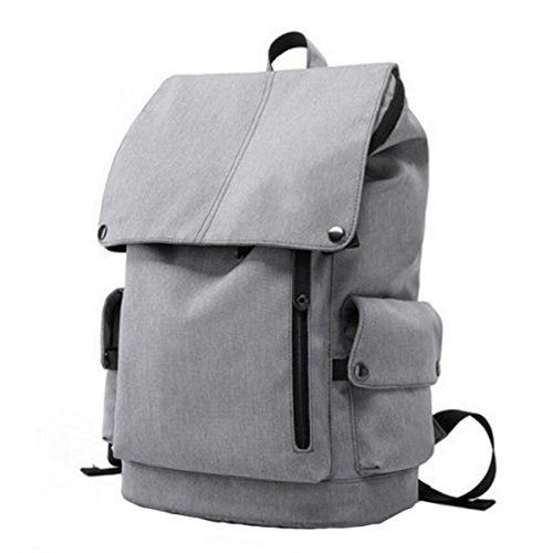 Computer Shoulder Backpack Bag Travel Male Grey1 Female Back Casual And Student 77Rxw1