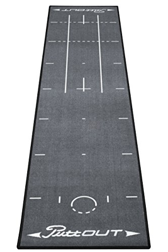 PuttOut Pro Golf Putting Mat - Perfect Your Putting (7.87-feet x 1.64-feet) by PuttOut (Image #1)