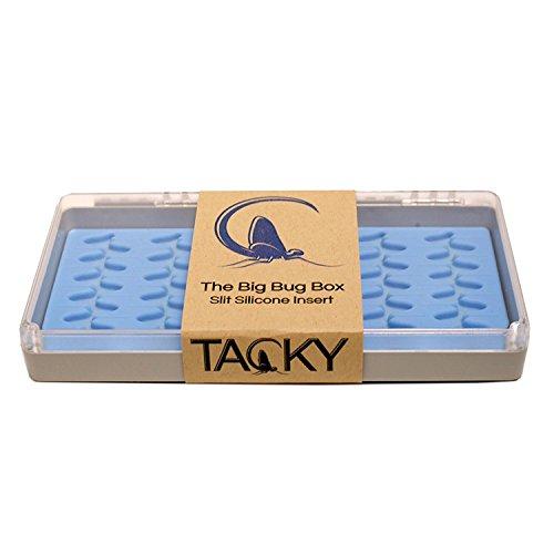 Tacky Fishing Tacky Big Bug Box  One Size ,Grey and Clear ()