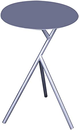 Fly Table Basse Table Ronde En Fer Forge Nordique Argent Amazon