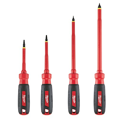 Milwaukee 48-22-2205 4pc 1000V Insulated Screwdriver Set wit