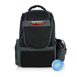 Innova Adventure Pack Backpack Disc Golf Bag – Holds 25 Discs – Lightweight – Includes Innova Limited Edition Stars Mini Marker