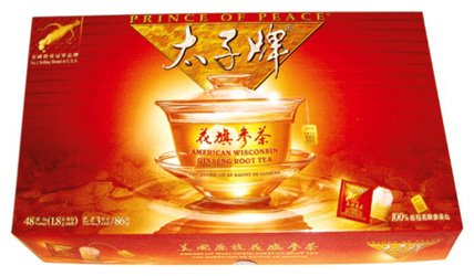 Prince of Peace - American Wisconsin Ginseng Root Tea (2 x 30 sachets boîtes chacune) - 1 boîte