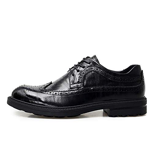 Brogue Xinguang Oxford Chaussures Personality Casual Ying Classiques Pour Noir Hommes 1O46tnfq
