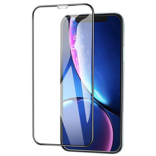 Screen Protector 10D Touch Full Coverage Anti-Fingerprint Bubble-Free Tempered Glass Screen Protector Compatible with iPhone X (2-Pack)