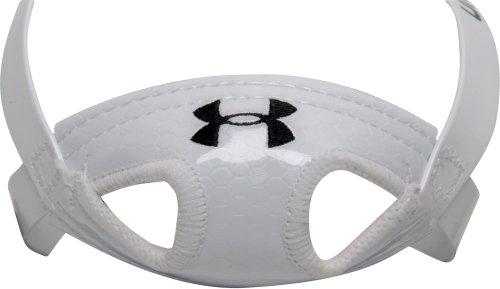 UNDER ARMOUR Adult Ua Defender Soft Chin Strap,WHITE,ADULT (Strap Under Armour Chin Pad)