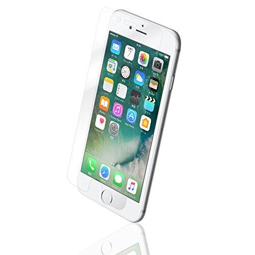 iPhone7Plus 強化 液晶保護 ガラス フィルム 気泡 入りにくい 反射防止 飛散防止 表面硬度9H 薄型 0.33mm 貼り直しOK 鮮明 ラウンドエッジ加工 なめらかな手触り クリーナー付 アイフォン7プラス AIGF-AG-IP755