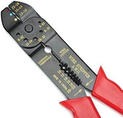プライヤー工具修理工具、小型ワイヤーストリッパー多機能ケーブルはさみ家庭用プライヤー電気技師手動剥離ワイヤーカッター