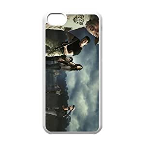 The Walking Dead iPhone 5c Cell Phone Case White 53Go-389637