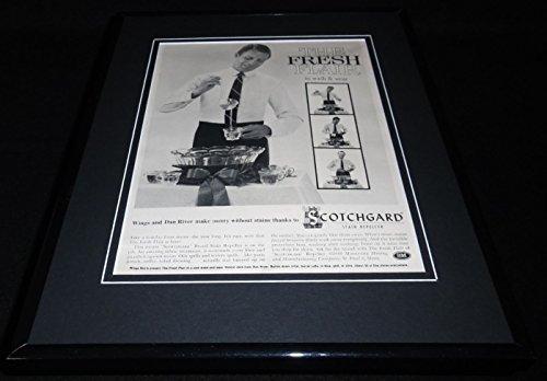 1960-scotchgard-stain-repeller-11x14-framed-original-advertisement