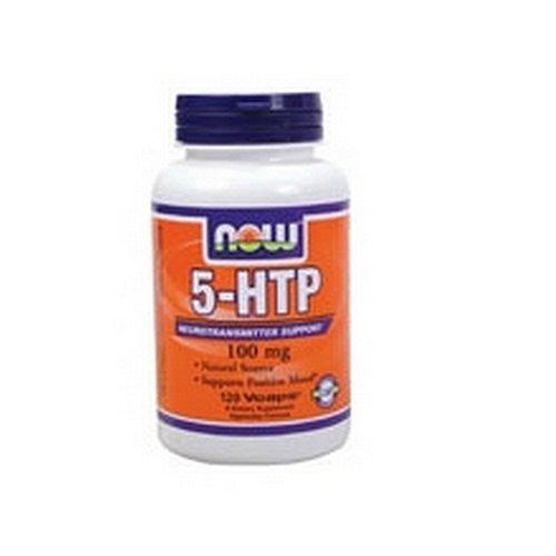 NOW Foods 5-HTP 100 mg - 120 Veg Capsules