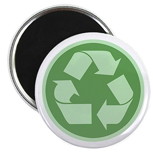 CafePress - Recycle Magnet - 2.25