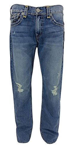 True Religion New Men's Sun Fade Super T Ricky Jeans M859...