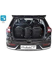 KJUST Kit de Bolsas 3 pcs Compatibles con KIA Niro 2016 - Dedicadas Car Bags