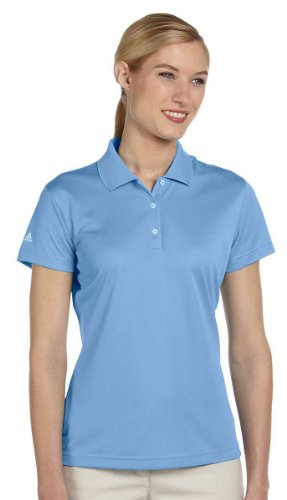 Adidas Ladies' Climalite Basic Polo Shirt, Coast, Medium -